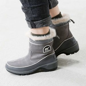 Sorel• Suede Pull On Boots